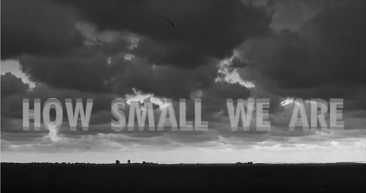 7 – How small we are